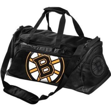 Boston Bruins NHL Locker Room Collection Medium Duffle Bag
