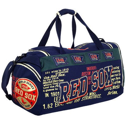 Boston Red Sox Historic MLB Duffle Bag