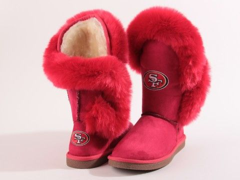 "San Francisco 49ers Women's Cuce Official NFL ""champions"" Boots"