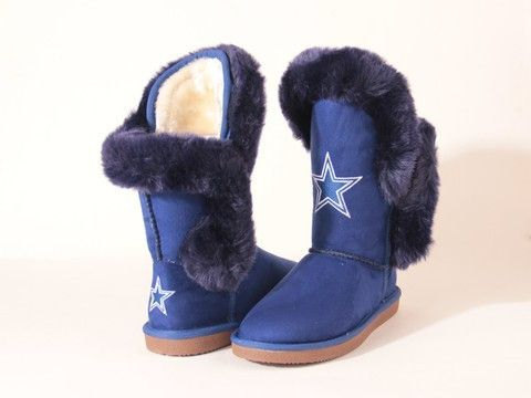 "Dallas Cowboys Women's Cuce Official NFL ""Champions"" Boots"
