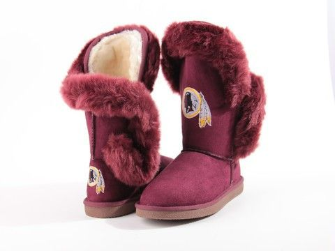 "Washington Redskins Women's Cuce Official NFL ""Champions"" Boots"