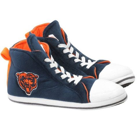 Chicago Bears Men's Official NFL Puffy Sneaker Slipper