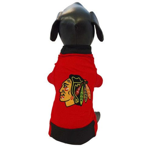 Chicago Blackhawks Official NHL Dog Mesh Jersey