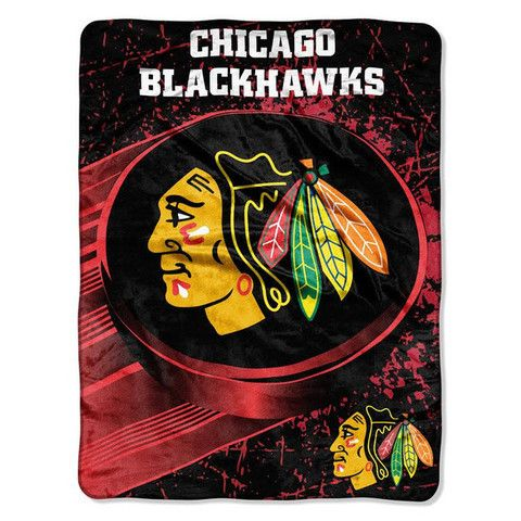 "Chicago Blackhawks Official NHL Micro Raschel Throw 46"" x 60"""