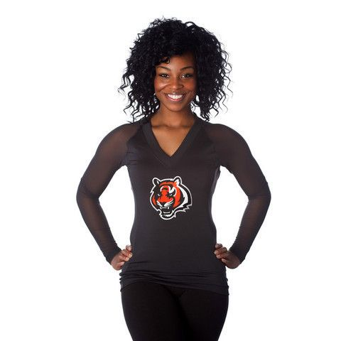 "Cincinnati Bengals Women's Official NFL ""Wildkat"" Top"