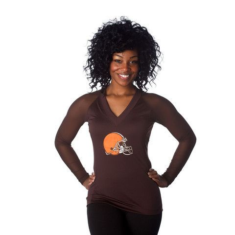 "Cleveland Browns Women's Official NFL ""Wildkat"" Top"