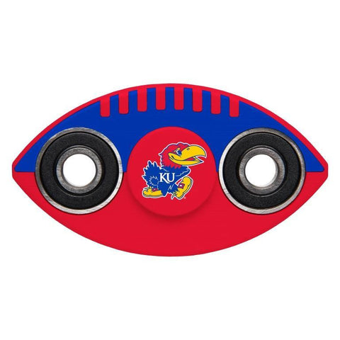Kansas Jayhawks NCAA Two Way Team Diztracto Spinnerz