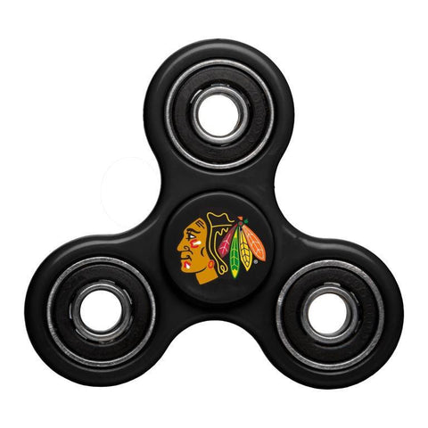 Chicago Blackhawks NHL Hockey Three Way Diztracto Spinnerz