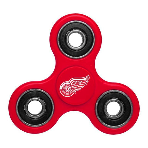 Detroit Red Wings NHL Hockey Three Way Diztracto Spinnerz