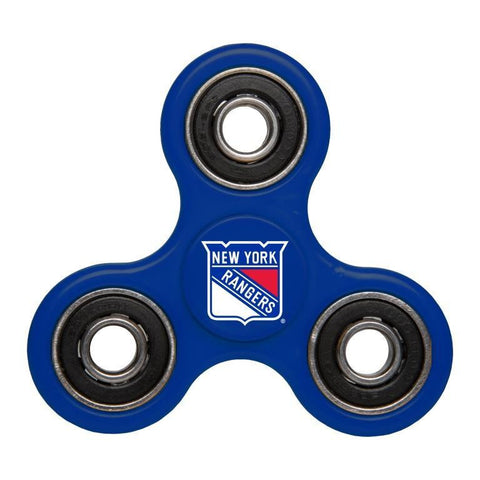 New York Rangers NHL Hockey Three Way Diztracto Spinnerz