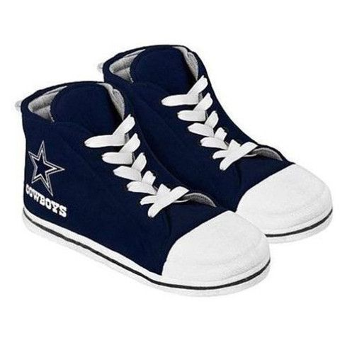 Dallas Cowboys Men's Official NFL Puffy Sneaker Slipper