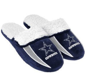 Dallas Cowboys Men's Sherpa Slide In Shoe Slipper