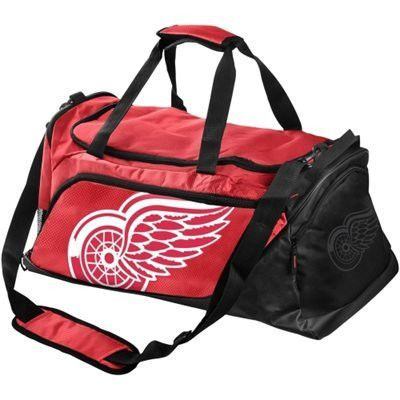 Detroit Red Wings Locker Room Collection Official NHL Duffle Bag