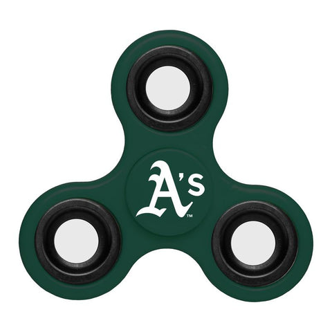Oakland Athletics MLB Baseball Three Way Team Diztracto Spinnerz