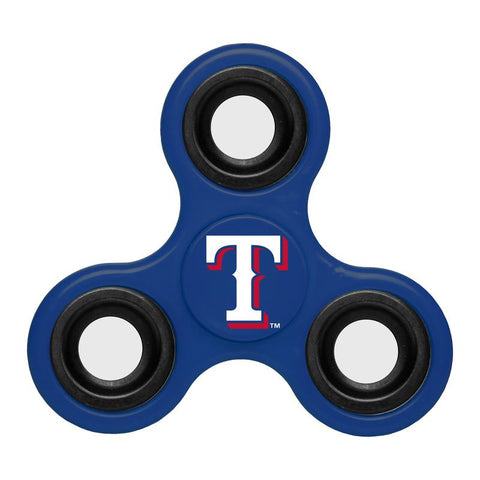 Texas Rangers MLB Baseball Three Way Team Diztracto Spinnerz