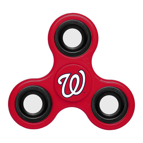 Washington Nationals MLB Baseball Three Way Team Diztracto Spinnerz
