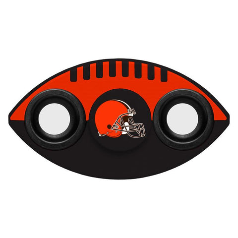 Cleveland Browns NFL Football Two Way Team Diztracto Spinnerz