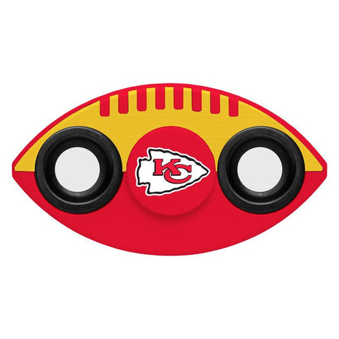 Kansas City Chiefs NFL Football Two Way Team Diztracto Spinnerz