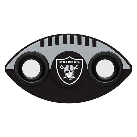 Oakland Raiders NFL Football Two Way Team Diztracto Spinnerz