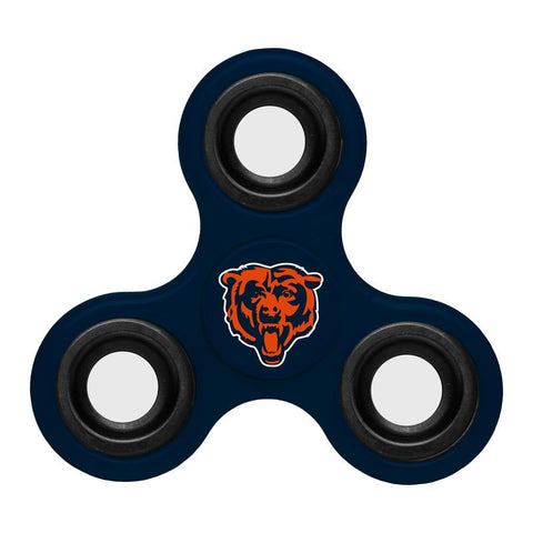 Chicago Bears NFL Football Three Way Team Diztracto Spinnerz