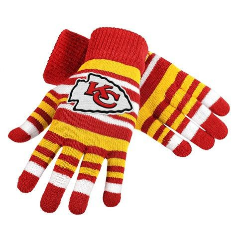 Kansas City Chiefs Official NFL Stretch Glove