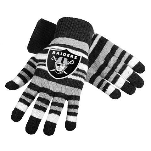 Oakland Raiders Official NFL Stretch Glove