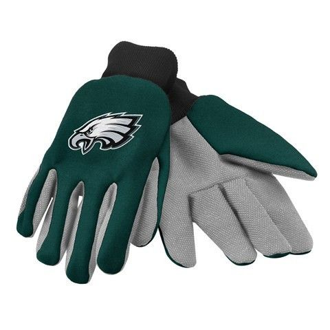 Philadelphia Eagles Official NFL 2015 Ulitity Gloves - Colored Palm