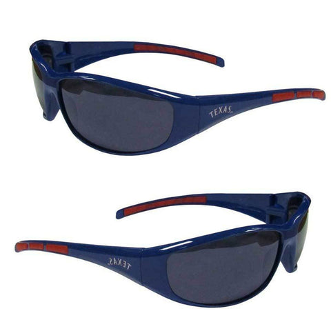 Texas Rangers Men's Official MLB 3 Dot Sports Wrap Sunglasses
