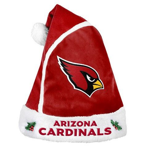 Arizona Cardinals Official NFL 2015 Holiday Santa Hat