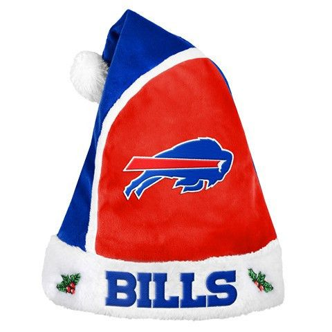 Buffalo Bills Official NFL 2015 Holiday Santa Ha