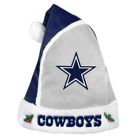 Dallas Cowboys Official NFL 2015 Holiday Santa Hat