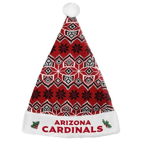 Arizona Cardinals 2015 NFL Knit Santa Hat