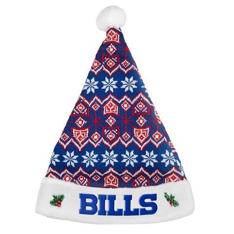 Buffalo Bills 2015 NFL Knit Santa Hat
