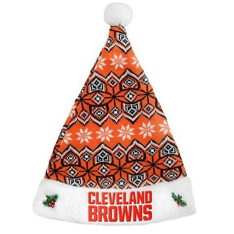 Cleveland Browns 2015 NFL Knit Santa Hat