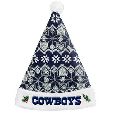 Dallas Cowboys 2015 NFL Knit Santa Hat