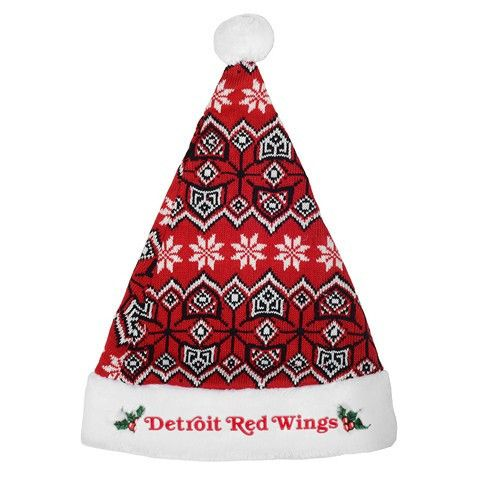 Detroit Red Wings 2015 NHL Knit Santa Hat