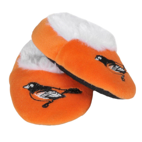Baltimore Orioles Official MLB Baby Bootie Slippers
