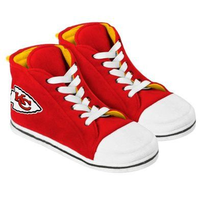 Kansas City Chiefs Men's Official NFL Puffy Sneaker Slipper