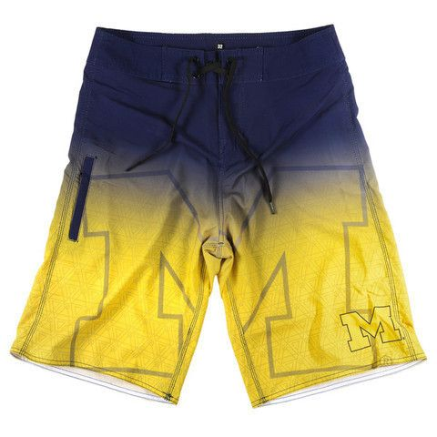 Michigan Wolverines Official NCAA Board Shorts