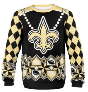 New Orleans Saints Drew Brees NFL Ugly Sweater