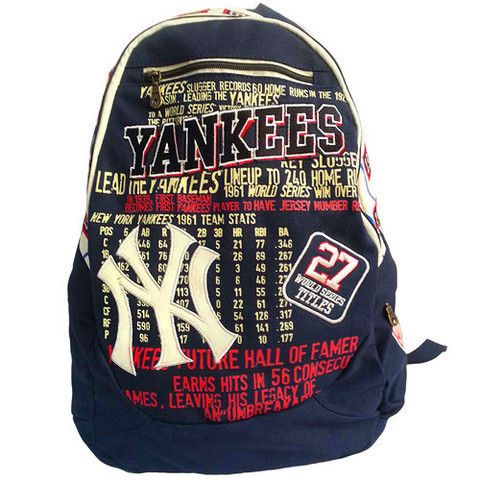 New York Yankees Historic MLB BackPack