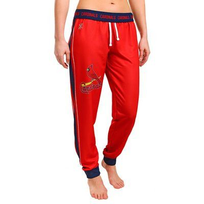 St. Louis Cardinals Official MLB Womens Poly Fleece Jogger Pants