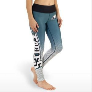 Philadelphia Eagles NFL Womens Gradient Print Leggings