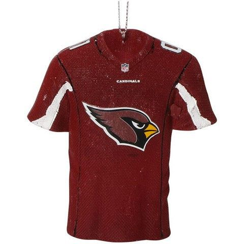 Arizona Cardinals Official NFL Resin Jersey Ornament