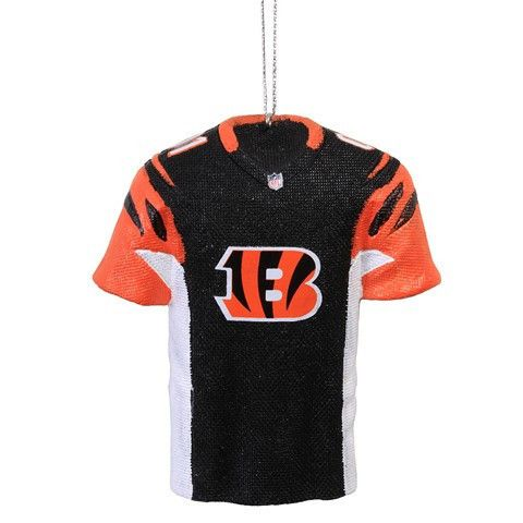 Cincinnati Bengals Official NFL Resin Jersey Ornament