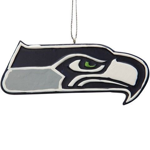 Seattle Seahawks Official NFL Resin Logo Ornament