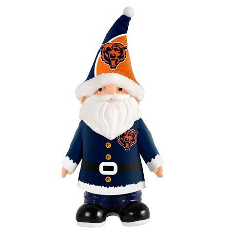 Chicago Bears NFL Santa Gnome