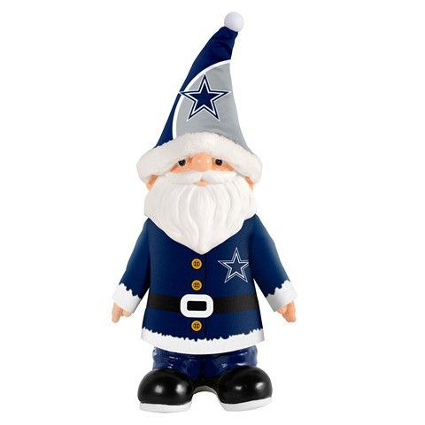 Dallas Cowboys NFL Santa Gnome