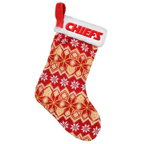 Kansas City Chiefs NFL Official 2015 Knit Stocking