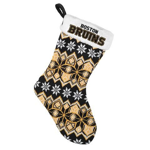 Boston Bruins NHL Official 2015 Knit Stocking